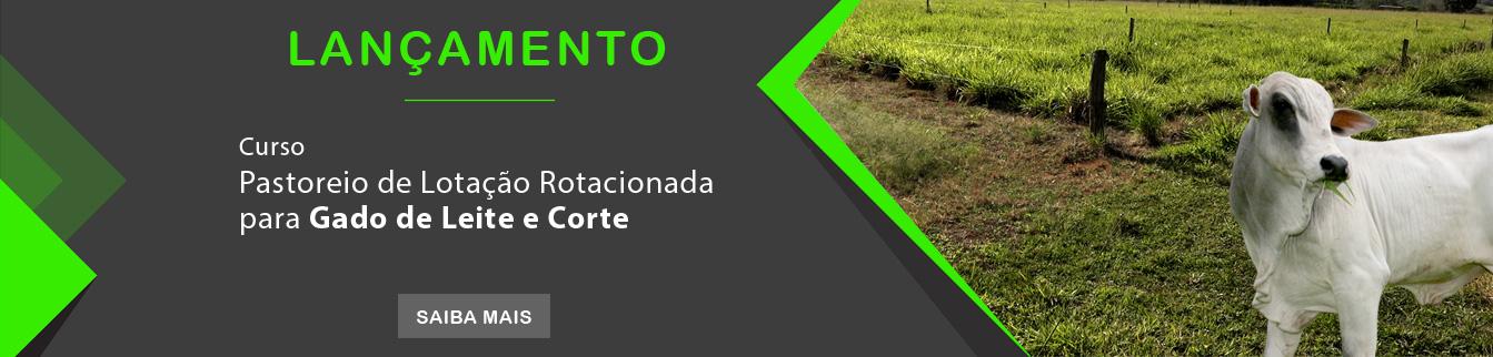 Lançamento - Curso Pastoreio de Lotação Rotacionada para Gado de Leite e Corte.