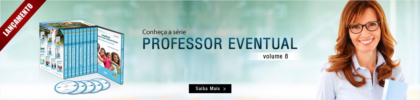 Conheça a série Professor Eventual Volume 8