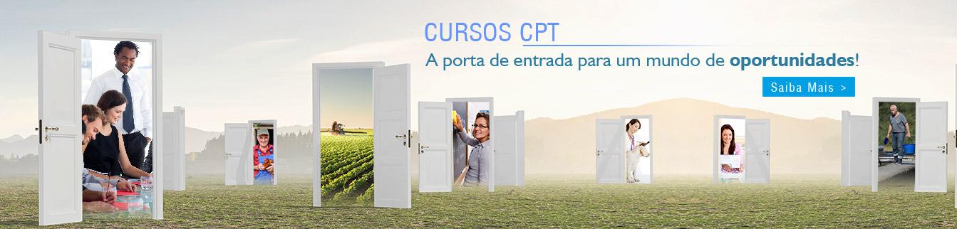 Cursos CPT - A porta de entrada para um mundo de oportunidades!