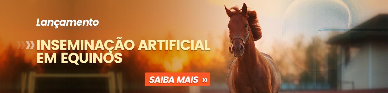 Lançamento: Curso Inseminação Artificial em Equinos. Adquira agora!!