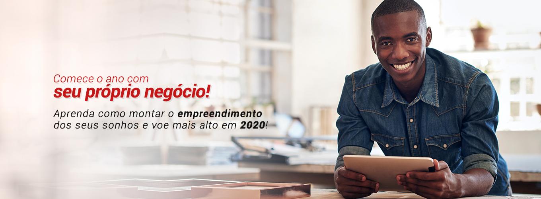 Comece o ano com seu próprio negócio! Aprenda como o empreendimento dos seus sonhos e voe mais alto em 2020