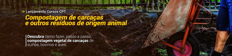 Descubra como fazer, passo a passo, compostagem vegetal de carcaças de suínos, bovinos e aves!