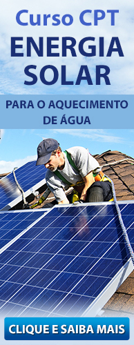 Curso CPT Energia Solar para Aquecimento de Água. Clique aqui e conheça!