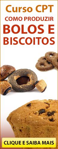 Curso CPT Como Produzir Bolos e Biscoitos. Clique aqui e conheça!
