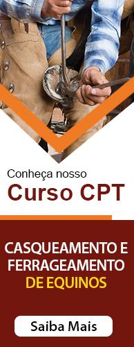 Curso CPT Casqueamento e Ferrageamento de Equinos . Clique aqui e conheça!