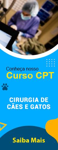 Curso CPT Cirurgia de Cães e Gatos. Clique aqui e conheça!