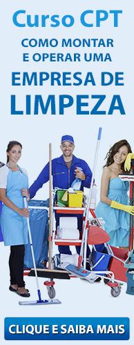Curso CPT Como Montar e Operar uma Empresa de Limpeza. Clique aqui e conheça!