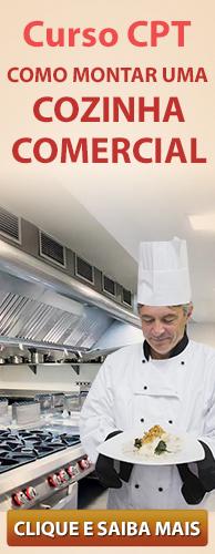 Curso CPT Como Montar uma Cozinha Comercial. Clique aqui e conheça!