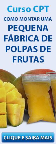 Curso CPT Como Montar Uma Pequena Fábrica de Polpas de Frutas. Clique aqui e conheça!