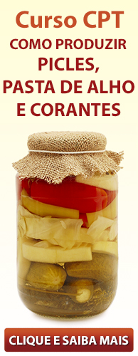 Curso CPT Como Produzir Picles, Pasta de Alho e Corantes. Clique aqui e conheça!