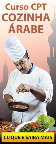 Curso CPT Cozinha Árabe. Clique aqui e conheça!