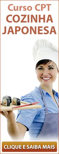Curso CPT Cozinha Japonesa. Clique aqui e conheça!