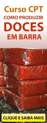 Curso CPT Como Produzir Doces em Barra. Clique aqui e conheça!