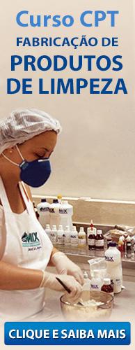 Curso CPT Fabricação de Produtos de Limpeza. Clique aqui e conheça!