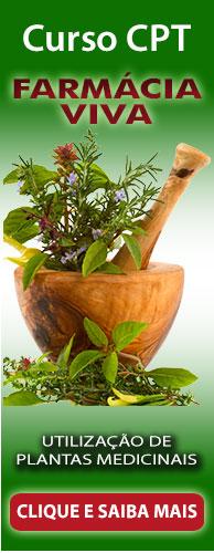 Curso CPT Farmácia Viva - Utilização de Plantas Medicinais. Clique aqui e conheça!