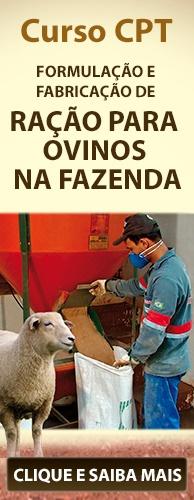 Curso CPT Formulação e Fabricação de Ração para Ovinos na Fazenda. Clique aqui e conheça!