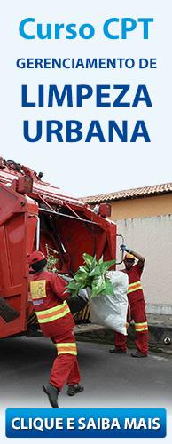 Curso CPT Gerenciamento de Limpeza Urbana. Clique aqui e conheça!