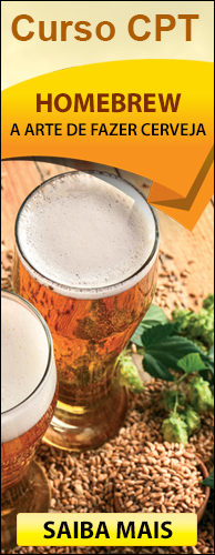 Curso CPT Homebrew - A Arte de Fazer Cerveja em Casa. Clique aqui e conheça!