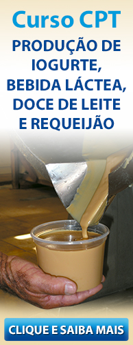 Conheça o Curso CPT Produção de Iogurte, Bebida Láctea, Doce de Leite e Requeijão Cremoso. Clique aqui.