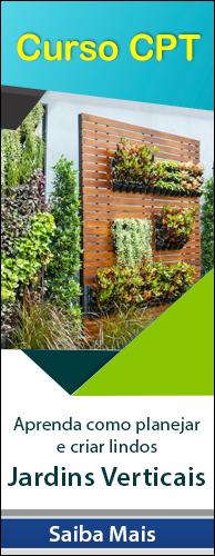 Curso CPT Jardins Verticais - Implantação e Manutenção. Clique aqui e conheça!