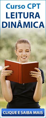 Curso CPT Leitura Dinâmica. Clique aqui e conheça!