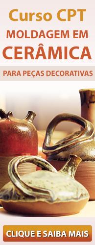Curso CPT Moldagem em Cerâmica para Peças Decorativas. Clique aqui e conheça!