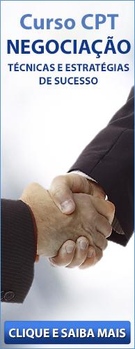Curso CPT Negociação - Técnicas e Estratégias de Sucesso. Clique aqui e conheça!