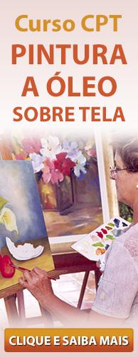 Curso CPT Pintura a Óleo sobre Tela. Clique aqui e conheça!