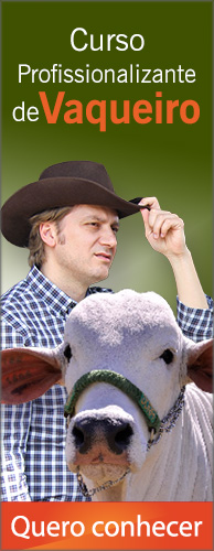 Curso Profissionalizante de Vaqueiro. Clique aqui e conheça!