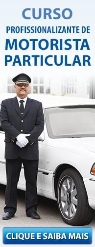 Curso Profissionalizante de Motorista Particular do CPT. Clique aqui e conheça!