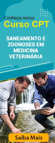 Curso CPT Saneamento e Zoonoses em Medicina Veterinária. Clique aqui e conheça!