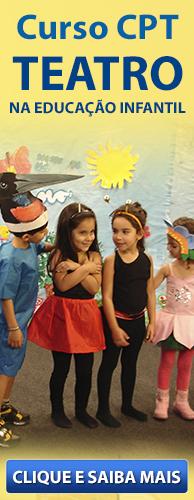 Curso CPT Teatro na Educação Infantil. Clique aqui e conheça!