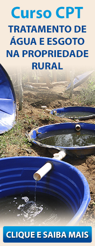 Curso CPT Tratamento de Água e Esgoto na Propriedade Rural. Clique aqui e conheça!