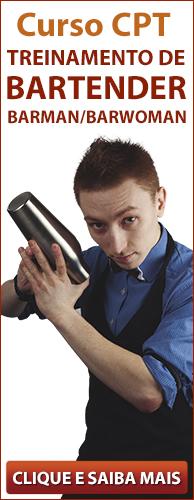 Curso CPT Treinamento de Bartender - Barman / Barwoman. Clique aqui e conheça!
