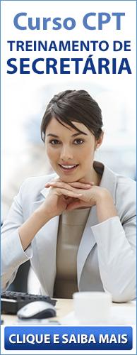 Curso CPT Treinamento de Secretária. Clique aqui e conheça!