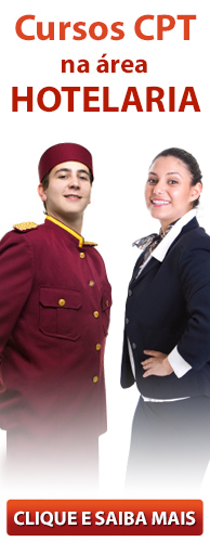 Conheça os Cursos CPT na área Hotelaria. Clique aqui.
