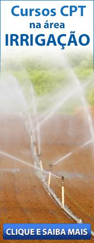 Conheça os Cursos CPT na área Irrigação. Clique aqui.