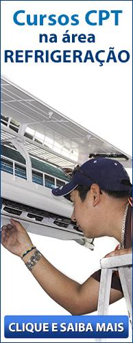 Conheça os Cursos CPT na área Refrigeração. Clique aqui.