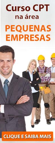 Cursos CPT da Área Pequenas Empresas