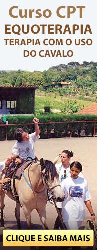 Curso CPT Equoterapia - Terapia com o Uso do Cavalo. Clique aqui e conheça!