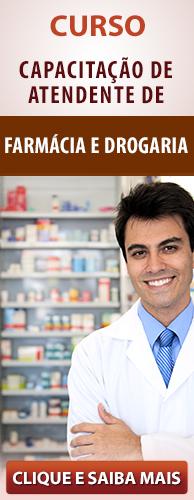 Curso a Distância CPT de Atendente de Farmácia e Drograria