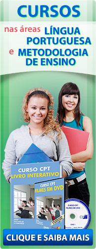 Curso CPT - Nova Ortografia. Cursos na área Educação. Clique aqui e conheça.