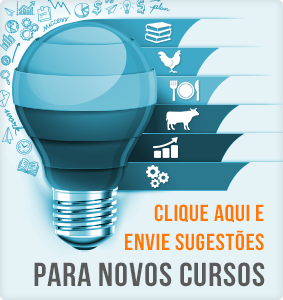 Envie sugestões para novos cursos