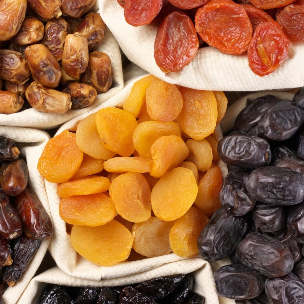 Frutas Desidratadas