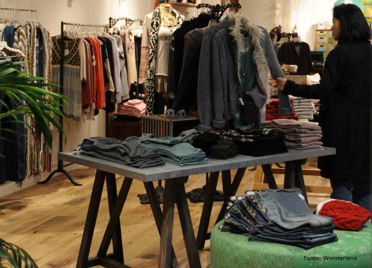 Planeje e monte uma loja de roupas de sucesso.
