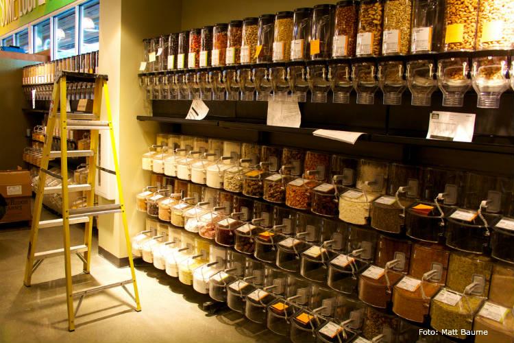 Loja de alimentos a granel - invista nessa ideia