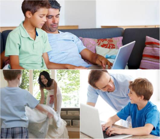 A comunicação entre pais e filhos é parte essencial do desenvolvimento das crianças