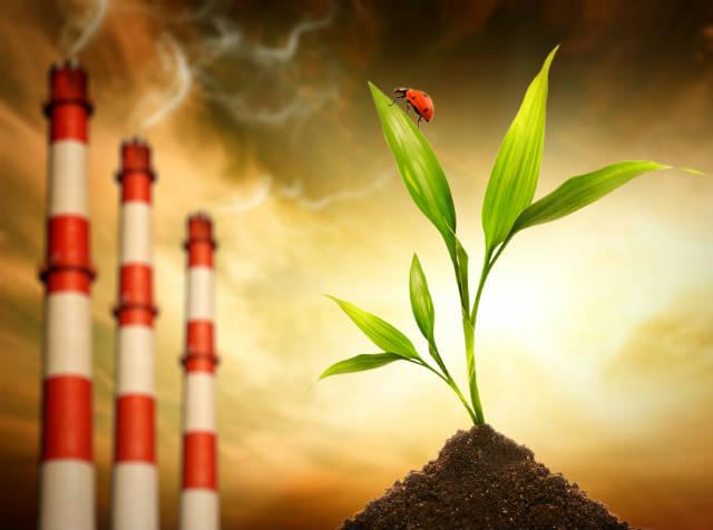 Máquina absorve CO2 da atmosfera e o transforma em gás carbônico puro