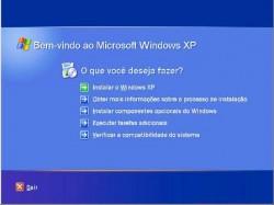 Configuração do computador e instalação do Windows XP