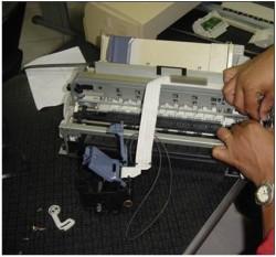 Como fazer a manutenção de impressoras matriciais